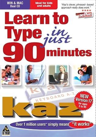 Kaz Keyboard A-Z Learn To Type