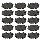 Autoparts Star Door Window Guide Retainer Clips Fit Buick Oldsmobile(15 pcs)