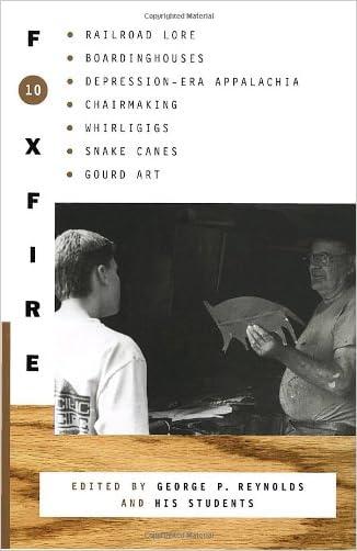 Foxfire 10 written by Inc. Foxfire Fund