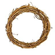 Darice GPV10 Grapevine Wreath, 10-Inch