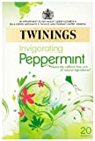 Twinings Pure Peppermint Herb Infusion (Pack of 6, Total 120 Teabags)