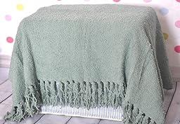 Newborn Baby photography photo props polyester Basket Stuffer Background blanket rug TZ17