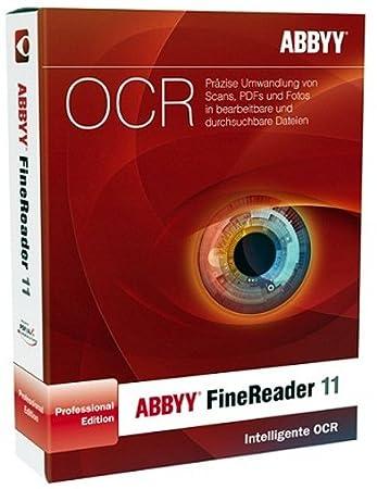 ABBYY Finereader 11 Anniversary Edition inkl. PDF Transformer 3.0