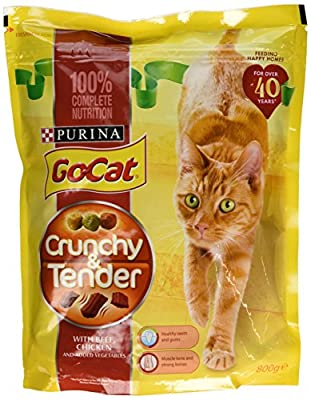Go-Cat Crunchy and Tender Dry Cat Food