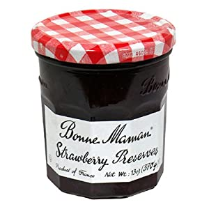 Bonne Maman Strawberry Preserves, 13-Ounce Jars (Pack of 6)