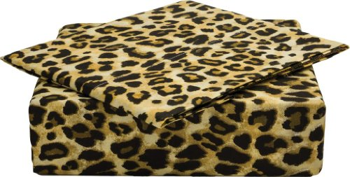 Leopard Sheets King front-1023475