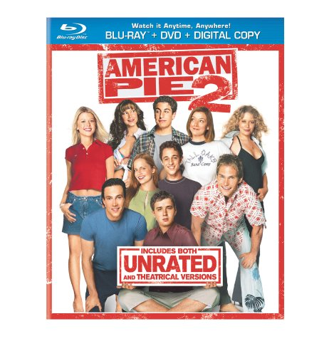 Cover art for  American Pie 2 (Blu-ray + DVD + Digital Copy)