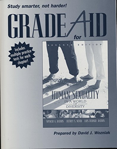 Grade Aid for Human Sexuality in a World of Diversity: Workbook