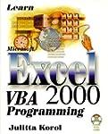 Learn Microsoft Excel 2000 VBA Progra...