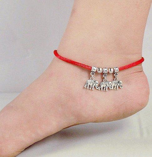 Tibetan Silver Sterling Silver Bangle Anklet Chain Bracelet Jewellery Quality Style NO.3011