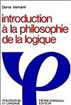 INTRODUCTION A LA PHILOSOPHIE DE LA L...