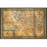 GB eye 61 x 91.5 cm Hobbit Map of the Shire Maxi Poster