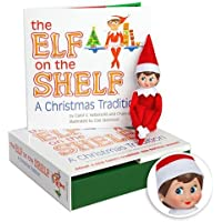 The Elf on the Shelf Christmas Tradition with Light Skin Tone Girl Scout Elf
