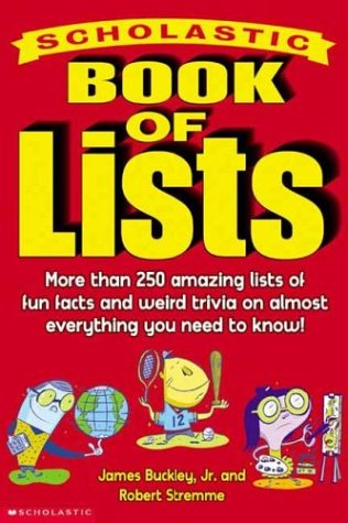 Scholastic Book Of Lists, Robert Stremme, James Buckley Jr