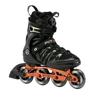 K2 Herren Fitness Skate F.i.t. 84 Boa, schwarz, 40 cm, 3030016.1.1.075