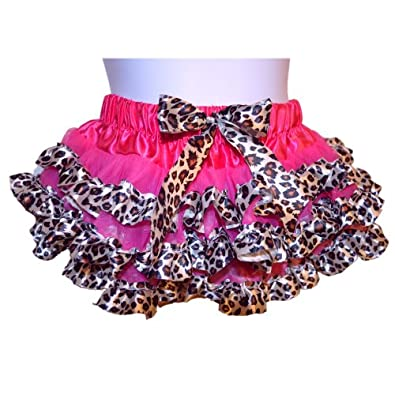 Tutu-Leopard Printed 2 Layers Tutu For Girls (Small)