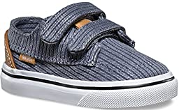 Vans Toddlers Brigata V (Washed Herringbone) Folkstone Gray VN00018VILC Toddler 5