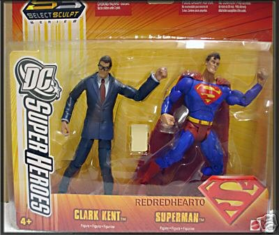 Buy Low Price Hasbro Dc Superheroes Clark Kent & Superman Action Figure Set (B000LYABOA)