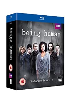 Being Human - Series 1-4 Box Set [Blu-ray] [Region Free]