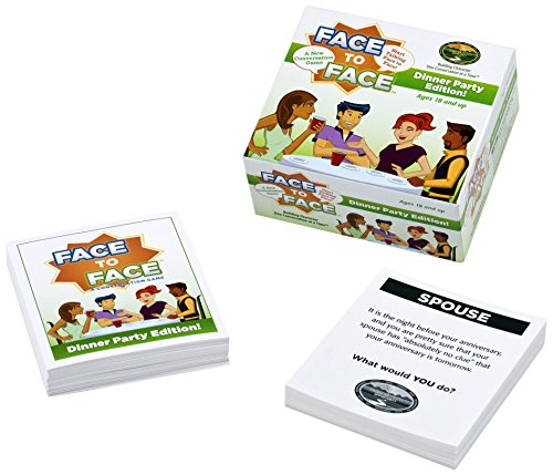 Face to Face Dinner Party Edition Card Game