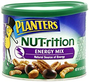 Planters NUT-rition Energy Mix, 9.25-Ounce Cans (Pack of 3)