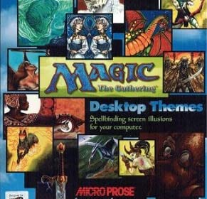 Magic The Gathering (MTG) Desktop Themes (輸入版)