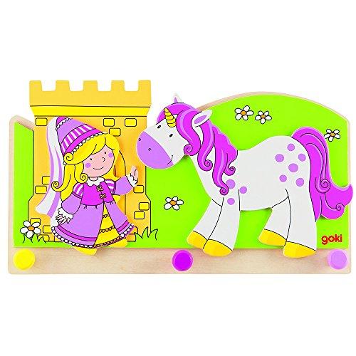 """Goki 60797 appendiabiti """"della principessina in modo con unicorno"""""""