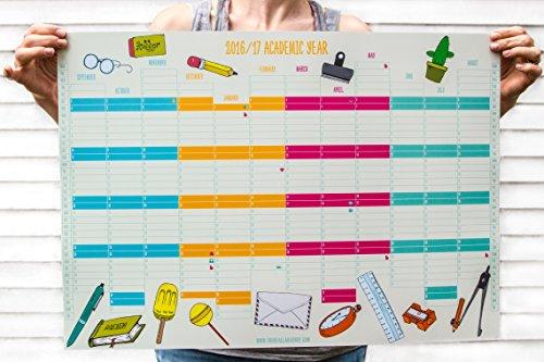 Calendario Planner da parete 2016-2017, formato A2