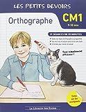 Les petits devoirs orthographe CM1