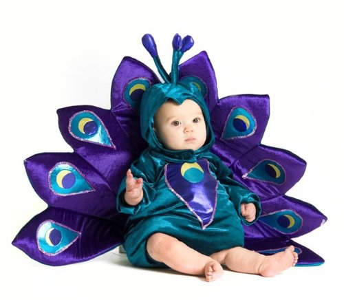 Princess Paradise Cute Baby Girl Peacock Outfit Infant Toddler Halloween Costume