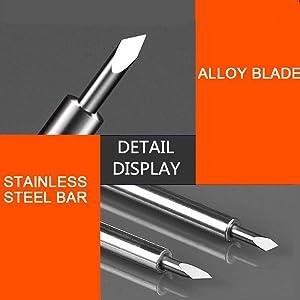 4pcs x 45/° 12 Pieces Cutting Replacement Blades Compatible Cricut Explore Air 2 Blades for Vinyl Cutting Machines Roland Blade Cutting Plotter Blade Including 4pcs x 30/° 4pcs x 60/°