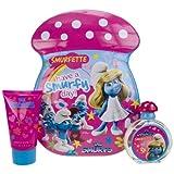 First American Brands The Smurfs Smurfette Brands Gift Set For Kids (Eau De Toilette Spray, Bubble Bath)