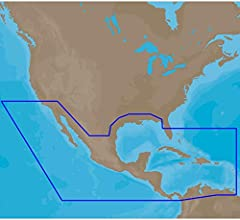 C-Map 4D NA-D027 Full Central America and Caribbean NA-D027-FULL