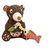Woodours Musical Fishing Bear Baby Toy
