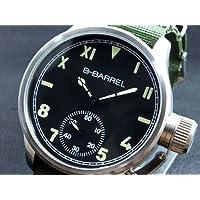 (ビーバレル) B-BARREL 手巻き式 腕時計 BB0046-4