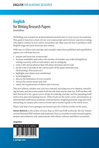 adrian wallwork english for writing research papers