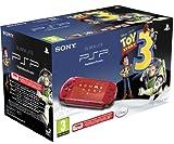 echange, troc Console PSP Rouge + Toy Story III le jeu (+ voucher thème Toy Story + stickers)