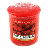 Yankee Candle Sampler Votive Candle, Sweet Strawberry