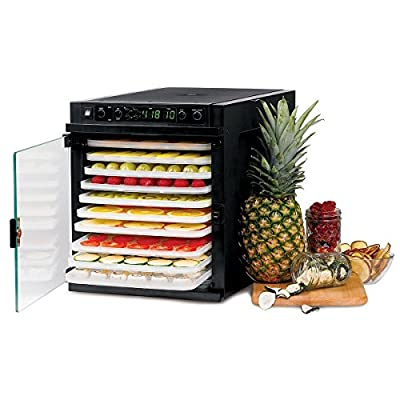 Tribest Sedona Express SDE-P6280-F Digital Food Dehydrator - 220 VOLT NOT FOR USE IN THE US by Tribest