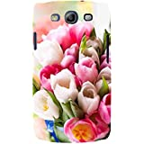 For Samsung Galaxy S3 I9300 :: Samsung I9305 Galaxy S III :: Samsung Galaxy S III LTE Floral Background ( Floral Background, Flower, Pink Flower, White Flower ) Printed Designer Back Case Cover By FashionCops