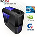 GAMING PC | PC24 GAMER PC | INTEL i7-6700K @4x4,20GHz Skylake | nVidia GF...