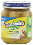 Gerber Graduates Lil Sticks Meat, 2.5-Ounce Jars (Pack of 12)
