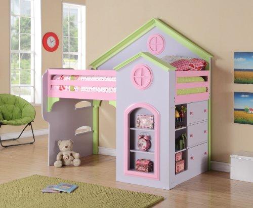 Princess Twin Loft Bed