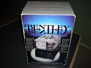 BENTLEY Deluxe Portable 5-Inch Black & White Television, TV Model No. 100C, Full 82-Channel tuning with VHF/UHF tuner, Extra-long 7-section rotating telescopic antenna, Built-in tinted sunscreen and extended sunshade for outdoor viewing, Weighs only 5 pounds, Size D batteries AC or DC