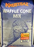 Krusteaz WAFFLE CONE Mix 5lb (2 Bags) Restaurant Quality