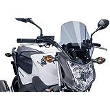 Puig 5991H RACING-SCREEN 【SMOKE】 HONDA NC750S / NC700S(12-15) プーチ スクリーン カウル オートバイ バイク パーツ