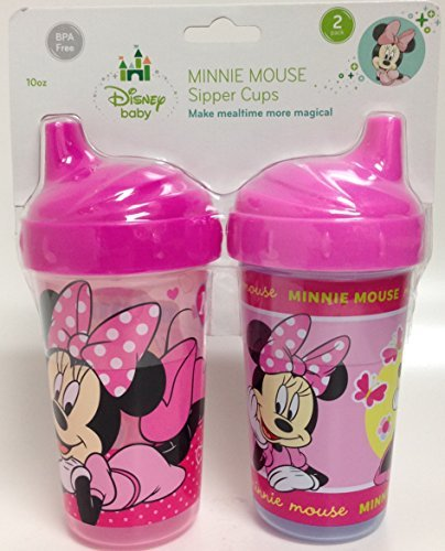 Disney Minnie Mouse Sipper Cups (2-pack)