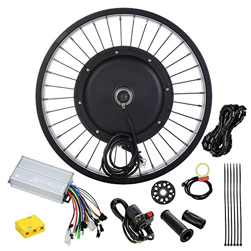 AW-20-48V-1000W-Electric-Bicycle-Front-Wheel-470RPM-E-Bike-Conversion-Kit-Speed-Throttle