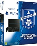 Console PS4 1 To Jet Black + 2�me manette Dual Shock 4 Noire + Playstation Football Club