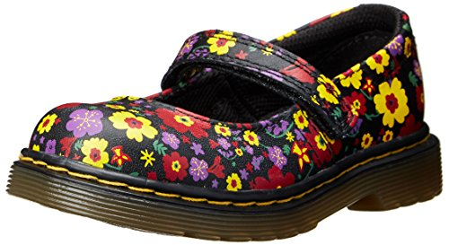 Dr. Martens Tully Mary Jane (Infant/Toddler),Black,8 Uk (9 M Us Toddler)